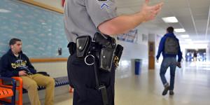 School police officer