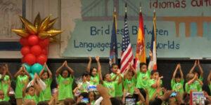 group of minority children